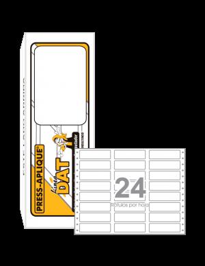 Cajas DAT - 2540