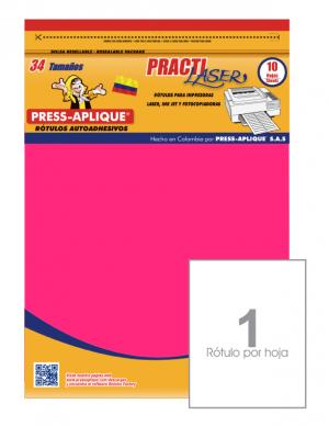 Practilaser radiante Fucsia - 3401