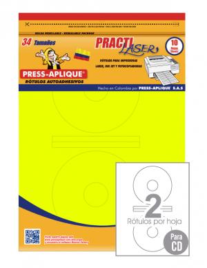Practilaser radiante Limón - 3406