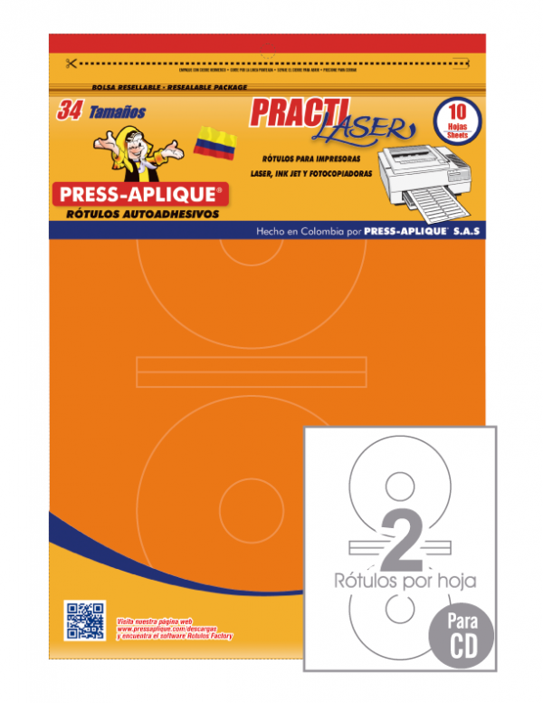 Practilaser radiante Naranja - 3408