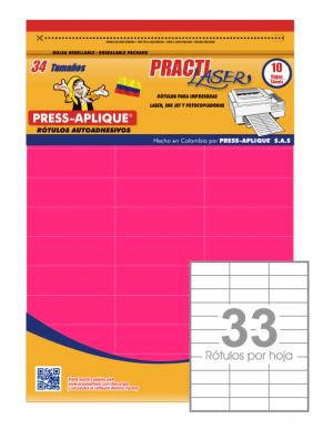 Practilaser radiante Fucsia - 3409