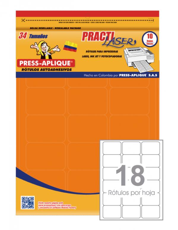 Practilaser radiante Naranja - 3416