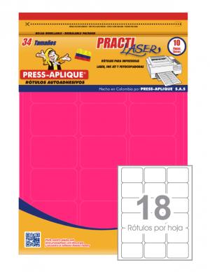 Practilaser radiante Fucsia- 3417