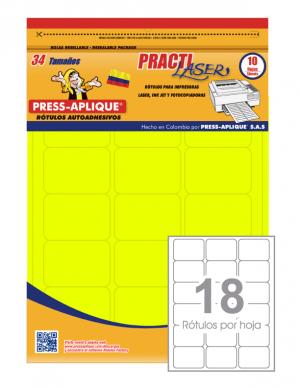 Practilaser radiante Limón - 3418