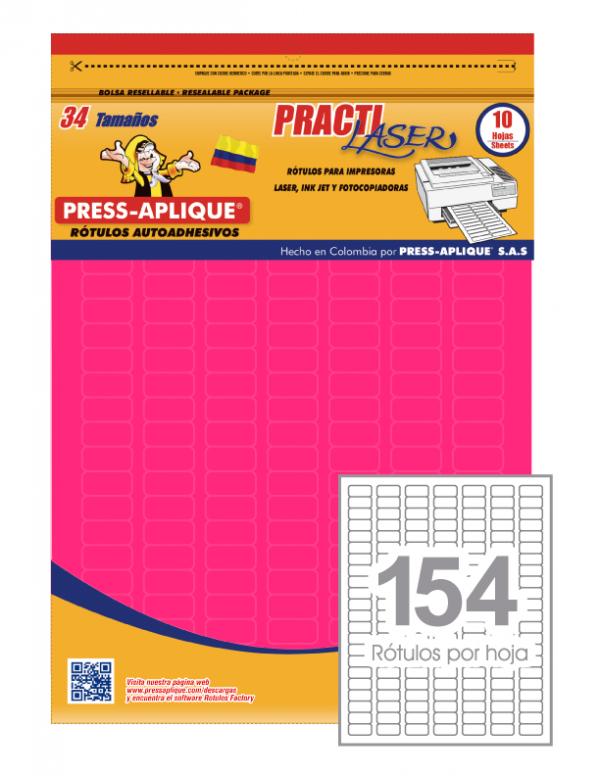 Practilaser radiante Fucsia - 3421